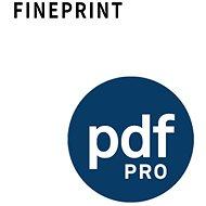 PdfFactory PRO pre 1 PC (elektronická licencia)
