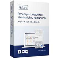 Talkey, e-mail a data v bezpečí pro 1 uživatele na 3 zařízení na 1 měsíc (elektronická licence)