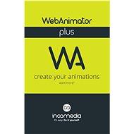 WebAnimator Plus (elektronická licencia) - Kancelársky softvér