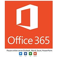Microsoft Office 365 Enterprise E1 (mesačné predplatné)- iba online verzia - Kancelársky softvér