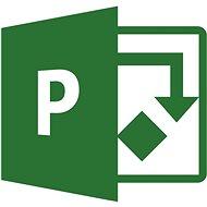 Microsoft Project Online – Plan 5 (mesačné predplatné)
