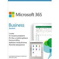 Microsoft 365 Business Standard CZ (elektronická licencia) - Kancelársky softvér
