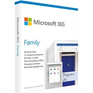 Microsoft 365 Family SK (BOX) - Office Software