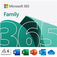 Kancelársky softvér Microsoft 365 pre rodiny (elektronická licencia)