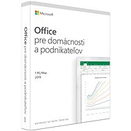 Microsoft Office 2019 Home and Business SK (BOX) - Office Software