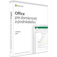 Microsoft Office 2019 Home and Business SK (BOX) - Kancelársky softvér