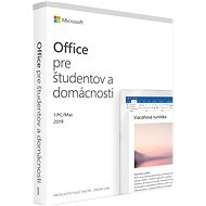 Microsoft Office 2019 Home and Student SK (BOX) - Kancelársky softvér