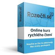 Rozečti.se - online výuka rychlého čtení (elektronická licence)