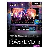 Cyberlink PowerDVD 18 Ultra (elektronická licencia) - Elektronická licencia