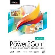 Cyberlink Power2GO Deluxe 11 (elektronická licencia) - Elektronická licencia