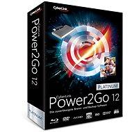 Cyberlink Power2GO Platinum12 (elektronická licencia) - Elektronická licencia