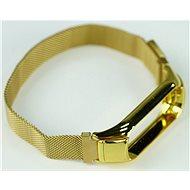 SXT Mi Band 3 kovový náramok (M-lock) zlatý - Remienok