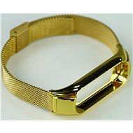 SXT Mi Band 3 kovový náramok (Typ 3) zlatý - Remienok