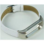 SXT Mi Band 3 koženkový náramok biely - Remienok