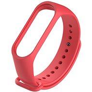 STX Mi Band 4 silikónový, červený