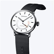 Sequent SuperCharger 2.1 Premium snehovo biele s čiernym remienkom - Smart hodinky