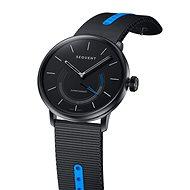 Sequent SuperCharger 2.1 Sport dymovo kovové s čiernym/modrým remienkom - Smart hodinky