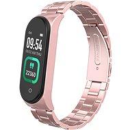 Smartomat Sunset 4 Pro s rose gold kovovým remienkom - Fitness náramok