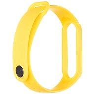 Tactical silikónový remienok pre Xiaomi Mi Band 5/6 Yellow - Remienok