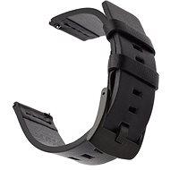 Tactical Kožený remienok pre Samsung Gear Sport Black (EU Blister) - Remienok
