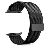 Tactical Loop Magnetický Kovový remienok pre Apple Watch 1/2/3 38 mm Black - Remienok