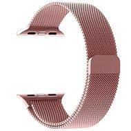 Tactical Loop Magnetický Kovový remienok pre Apple Watch 1/2/3 38 mm Rose Gold - Remienok