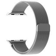 Tactical Loop Magnetický Kovový remienok pre Apple Watch 38 mm/40 mm Silver - Remienok