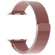 Tactical Loop Magnetický Kovový remienok pre Apple Watch 4 40 mm Rose Gold - Remienok
