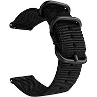 Tactical Nylon remienok pre Samsung Gear S3 Black (EU Blister) - Remienok