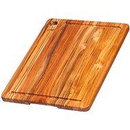 TEAK HAUS 514 Kuchynský lopárik obdĺžnikový 41 × 30 × 2 cm - Doska na krájanie