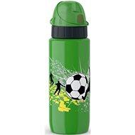 TEFAL DRINK2GO antikorová fľaša 0,6 l zelená-futbal