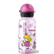 TEFAL KIDS fľaša tritan 0,4 l ružová – princezná - Fľaša na vodu
