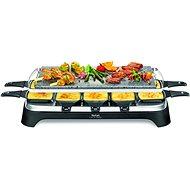 Tefal PR457812 Raclette Inox & Design - Elektrický gril