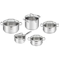 Tefal Pot Set Duetto+ G719SA74 10pcs - Pot Set