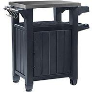 Keter Unity 105 L Grilovací stolík grafit - Záhradný stôl