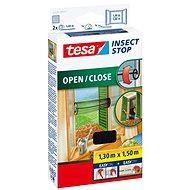 TESA Otvárateľná sieť COMFORT, antracitová - Sieť proti hmyzu