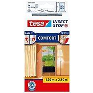TESA Sieť proti hmyzu COMFORT, do dverí, antracitová - Sieť proti hmyzu