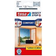 TESA Sieť proti hmyzu COMFORT, na francúzske okno, antracitová - Sieť proti hmyzu