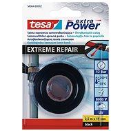 tesa exyra Power EXTREME REPAIR Self-Bonding Tape, UV resistant, black, 2.5m:19mm