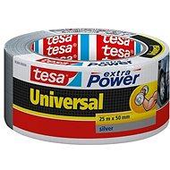 tesaExtra Power Universal, textilní, stříbrná, 25m:50mm