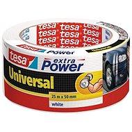 tesaExtra Power Universal, textilná, biela, 25 m : 50 mm - Lepiaca páska