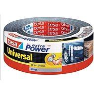 tesaExtra Power Universal, textilná, strieborná, 50 m : 50 mm - Lepiaca páska