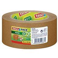 tesa PAPER ecoLogo, papierová, odolná, svetlo hnedá, 50 m : 50 mm - Lepiaca páska