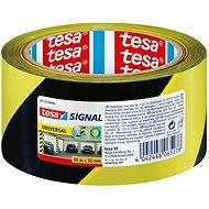 tesa SIGNAL, Marking Tape, yellow-black, 66m:50mm
