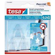 Tesa Samolepiaci priehľadný dekoračný háčik na sklo 0,2 kg