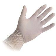 Jednorazové latexové rukavice, pudrované, veľ. M, 100 ks - Gumené rukavice