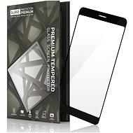Tempered Glass Protector rámčekové pre Samsung A8 čierne
