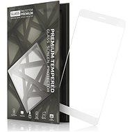 Tempered Glass Protector rámčekové pre Nokia 7 biele - Ochranné sklo