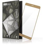 Tempered Glass Protector Rámečkové pre Samsung Galaxy A5 (2017) Zlaté - Ochranné sklo