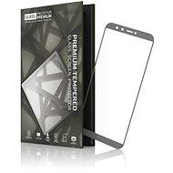 Tempered Glass Protector 0.3 mm pre Honor 9 Lite sivý rám - Ochranné sklo